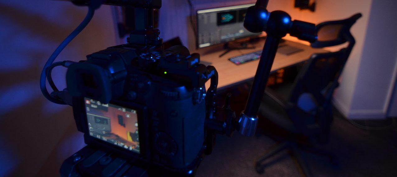 Filming in Profilmmaker edit suite